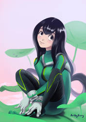 Tsuyu - My Hero Academia by Guryfrog