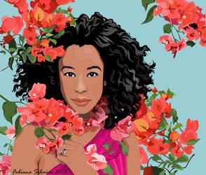 Corinne Bailey Rae by studiocartoon