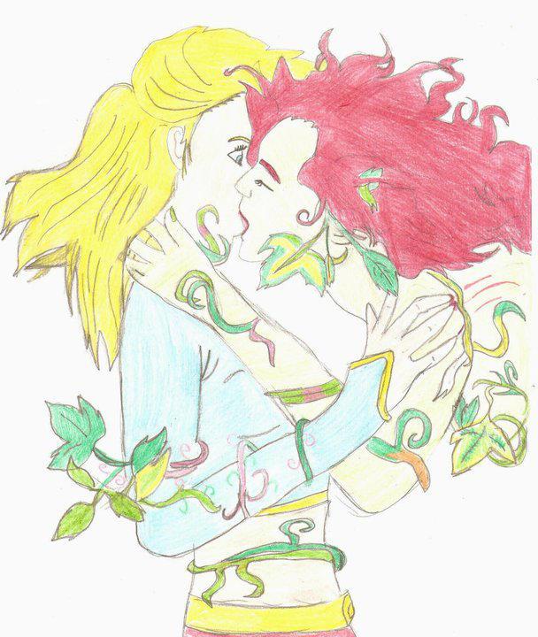 Supergirl X Poison Ivy By Redcherry95 On Deviantart