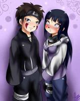 RQ:Kiba and Hinata by xXUnicornXx