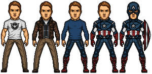 Captain America The Avengers by Almejito