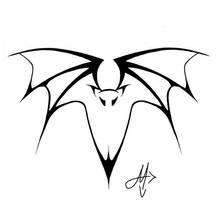 bat tattoo 1 by valadaz