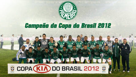 Palmeiras Campeao Copa do Brasil 2012 Poster by Panico747
