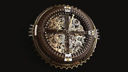 Clock Steampunk by Panico747