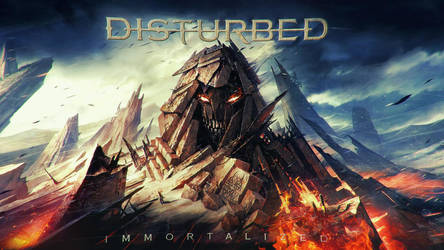 Disturbed  Immortalized Wallpaper by Panico747