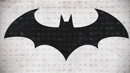Batman logo wallpaper 4k by Panico747