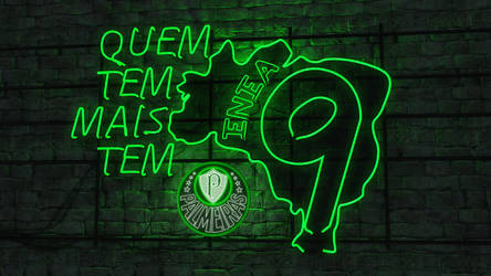 Palmeiras - Quem tem mais tem 9 by Panico747