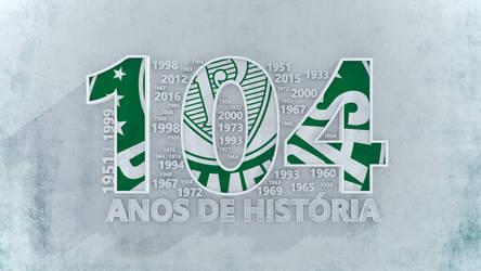 Palmeiras 104 anos by Panico747