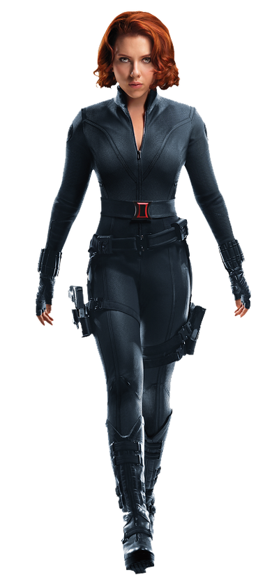 Black Widow PNG/RENDER from Marvel's The Avengers by ...