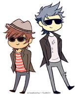 Cool Boys by Harumi-Chan