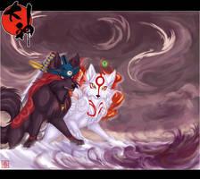 Okami: Danger in Yoshpet by Harumi-Chan