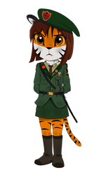 Colonel Dalia of the VSR by Officer-JudyHopps