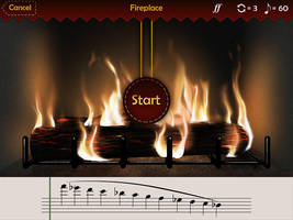 Music learning game Fire Game by EternalAnomaly
