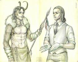 Loki by psydrevo