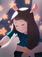 Dreamy by jingsketch