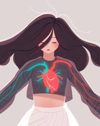 Big Heart by jingsketch