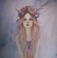 Lady Flower by Lixuu
