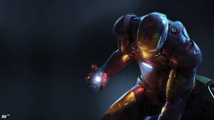 Iron Man by Isux