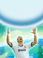 Cristiano haciendo una Genkidama! by Isux