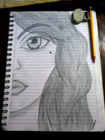 Sandra Drawing by Isux