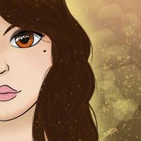 Retrato Yiya by Isux