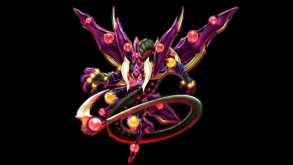Starve venom fusion dragon render by Isux