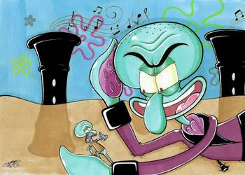 Squidward in Clarinetland: Worst Nightmare 2! :3 by ShannonxNaruto