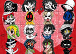 Creepy Valentine's Day! :3 by ShannonxNaruto