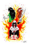 Three Stages of Jeff The Killer! :3 by ShannonxNaruto