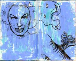 Lamia Angelina by pinupsbykeeegan