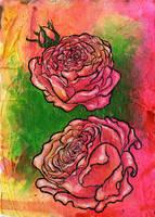 roses by pinupsbykeeegan