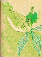 green faerie by pinupsbykeeegan