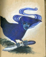 Raven by pinupsbykeeegan
