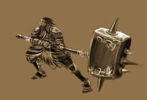 Monster Hunter Sketch by KingKwong
