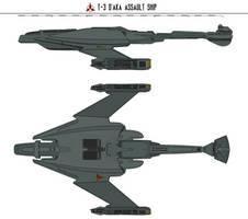 T3 D'aka Assault Ship by Martechi
