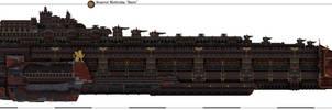 Battleship 'Iwein' by Martechi