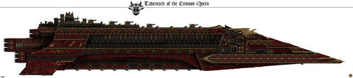 Tabernacle of the Crimson Queen (Rogue Trader) by Martechi