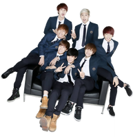 Bangtan Boys png render by allaixa
