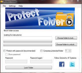 Protect Folder v2.0 by gromichoafsystems