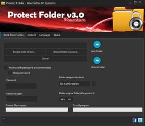 Protect Folder v3.0 by gromichoafsystems
