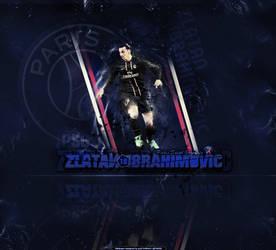 Zlatan Ibrahimovic Large Art by pO9-AW
