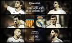 Valencia CF vs Real Madrid CF Large Art by pO9-AW