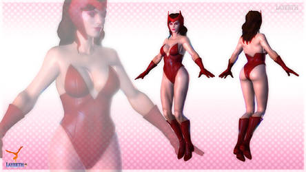 Scarlet Witch #2 by Layerth-3D