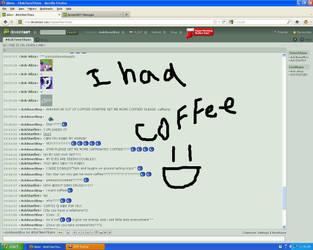 CHAT 1: CAFFEINE by AskBeastBoy