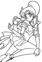 Super Sailor Jupiter Coloring Page 2 by Sailortwilight
