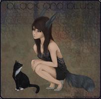Black and Blue by nequita