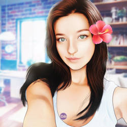 Angelina Danilova by ULTRADOMZYART