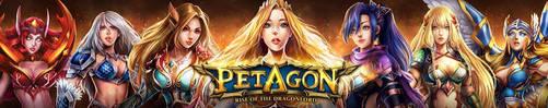 Petagon- Femme Fatale by OrionArtsStudio