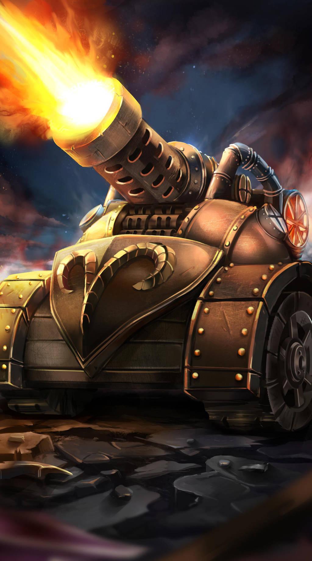 Mortar Tank from Petagon by OrionArtsStudio