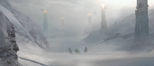 Matte Painting Snow05 Copy by gonoghost